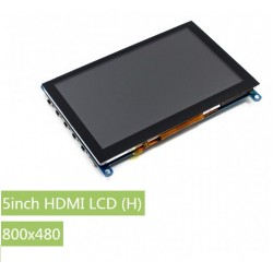 5inch HDMI LCD (H) - 800x480  - Capacitive touch - Supports various systems