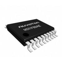 MS51FB9AE, 1T 8051 CPU, 16KB Flash, 1KB SRAM, 2x UART, SPI, I2C, 12Bit 8Ch ADC, Nuvoton - TSSOP20