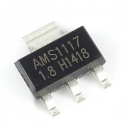 AMS1117-1.8V, 1A LDO Voltage Regulator, SOT-223