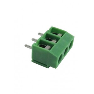 PCB Screw Terminal Block - 3 Pin Wire to Board Connector - 5mm Pitch - X-300