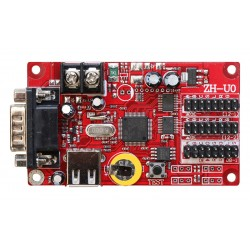 LED Display Controller Card  - 16*2048 Points - USB+ RS232 Serial - P10 LED controller