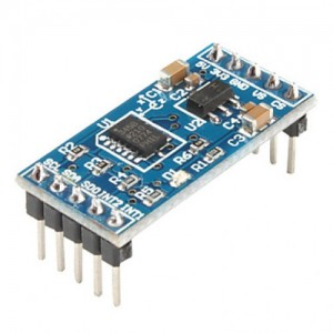 ADXL345 - 13-bit digital accelerometer - I2C Interface - +/-16g