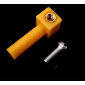 6mm Shaft Adaptor for BO Motor - BO motor Coupling