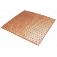 """General Purpose PCB 4""""x 3"""" - 2.54mm Pitch - Tinned Pads"""