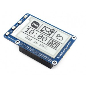 264x176, 2.7inch E-Ink/ E-Paper display HAT for Raspberry Pi