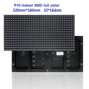 P10 Indoor - 3528 SMD RGB LED matrix panel - 1/8 scan - 32*16 -  HUB75