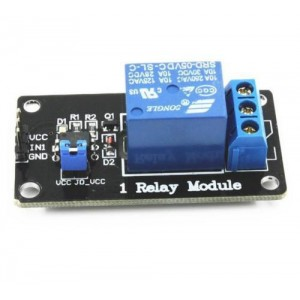 Relay Module - 1 Channel - 5V - Low Level Triggered - w/ 3mm Mounting Holes