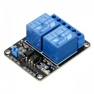 2 Channel Relay Module - 5V - Low Level Triggered  - Isolated Input