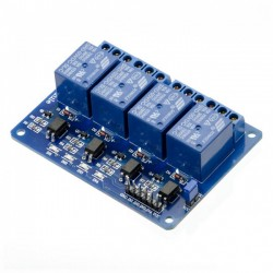 4 Channel Relay Module - 5V -  Low Level Trigger