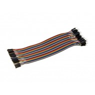 Female to Male Jumper Wires - 20cm Length - 2.54mm - Set of 40