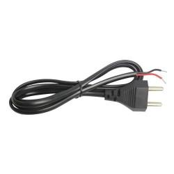 2 Pin AC Mains Cord - 1.5 meter - 6A - 250VAC