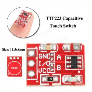 TTP223 - Capacitive Touch Key / Switch