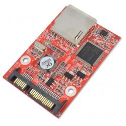 """SD Card to 7+15 Pin 2.5"""" HDD SATA Converter"""