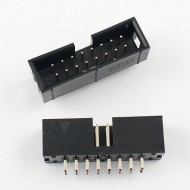 Shrouded Male Header - 2x8 - 2.54mm Pitch - 16 pin IDC connector - Straight
