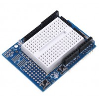 Arduino UNO Proto Shield with SYB170 Breadboard