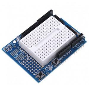 Arduino UNO Proto Shield with SYB170 Breadboard