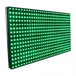P10 High Brightness  Green LED Display Panel - SMD -  32*16 - 4 Scan - 5V - HUB12 -Semi Outdoor
