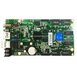 HD-C10C Async Full Color LED Display Controller - 384*320 Pixels - 10x HUB75 -  4GB Memory - Cloud Server Support