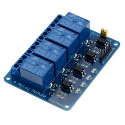 4 Channel Relay Module - 12V - Low Level Trigger