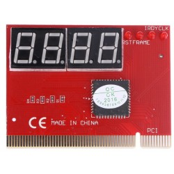 PCI Motherboard Diagnostic Card - POST Diagnostic Card - 4 Digit - H029
