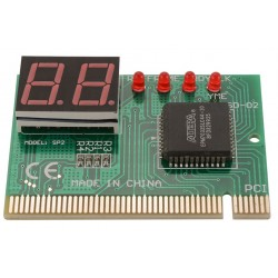 2 Digit PCI POST Diagnostic Motherboard Debugging Card