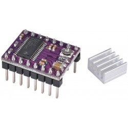 DRV8825 -StepStick - Stepper Motor Driver with Heat Sink - 4 Layer PCB