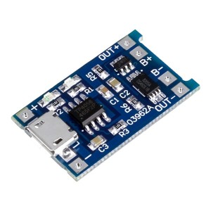TP4056 Li-ion Battery Charger Module with Protection
