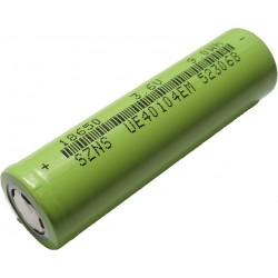 2600mAh Rechargeable Li-ion Battery Cell - 18650 - 3.6V - 9Wh