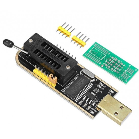 CH341A 24 25 Series EEPROM Flash BIOS USB Programmer with Software /& Driver