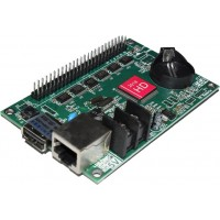 HD-E64 USB+LAN Based LED Display Controller with 16x HUB12 Card - 1024*256 - Single Color
