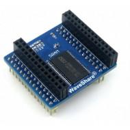 IS62WV12816BLL  SRAM Breakout Board - 2Mbit (128K x 16bits) - 16Bit Parallel Interface