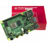 New Raspberry Pi 4 Model-B with 4 GB RAM - Bluetooth 5.0 - WiFi - USB3.0 - 4K@60 H.265