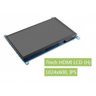 Waveshare 7inch HDMI LCD (H), 1024x600, IPS Screen, Capacitive Touch - Suitable for Jetson Nano / RPi4