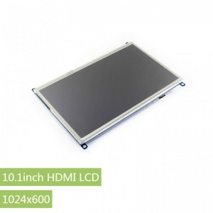 10.1inch HDMI LCD Display for Raspberry Pi 1024×600 - Resistive Touch -  Waveshare