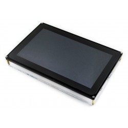 10.1 inch Capacitive Touch Screen LCD (H), 1024x600, Supports Multi mini-PCs, Multi Systems, Multi Interfaces - HDMI - VGA - AV (CVBS)