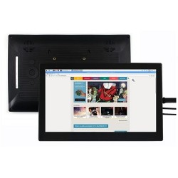 13.3inch HDMI LCD (H) (with case) 1920x1080, IPS Capacitive Touch Supports Multi Mini PC