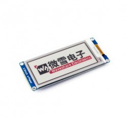 296x128, 2.9inch E-Ink display module, three-color, SPI interface