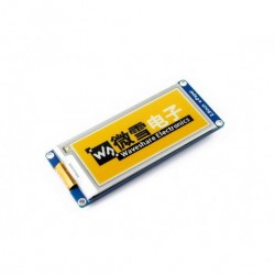 296x128, 2.9inch E-Ink display module (C), yellow/black/white three-color, SPI interface