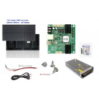 P10 Indoor Full Color LED Display Do It Yourself (DIY) Starter Kit - 64*16