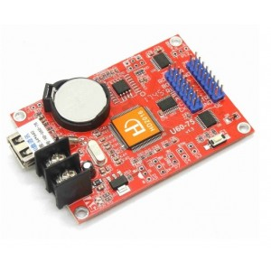 HD-U60-75 - 7 Color Asynchronous LED Display Controller Card - 2x HUB75 - 640(W)*64(H)
