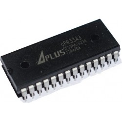 APR33A3 - 8 Channel Voice Recording Playback IC - 11 Minutes - Aplus - DIP28
