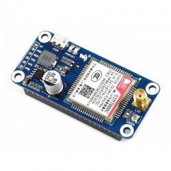 NB-IoT/eMTC/EDGE/GPRS/GNSS HAT for Raspberry Pi, Based on SIM7000C