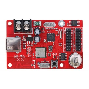 WiFi enabled LED Display Controller Card - Single Color - 320 x 32 Pixels - P10 Display controller