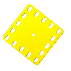 Flat Flexible Metal Plate - 5 x 5 Holes - #903