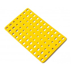 Flat Rigid Metal Plate - 7 x 11 Holes - #923