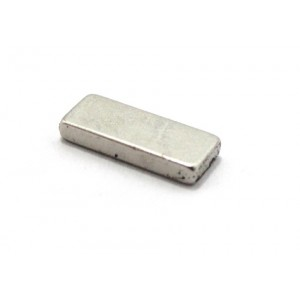 Neodymium Block Magnet 10mm x 4mm x 1.5mm , N35, 0.6 Kg Pull
