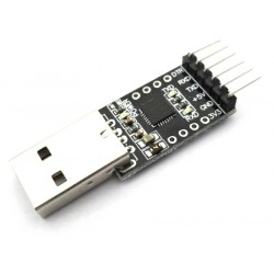 CP2102 based USB to UART TTL Converter Module - 6 Pin