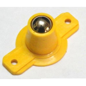 Ball caster wheel Small - Yellow Color