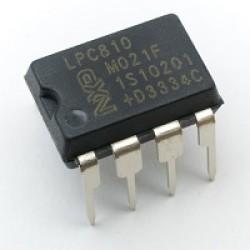 LPC810M021FN8 - 32 Bit - ARM Cortex M0+ - 4KB Flash - DIP8 - NXP Semiconductor