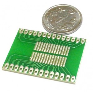 All in One SOIC Adapter - FR4 - 1.6mm Glass Epoxy - SMD Adapter